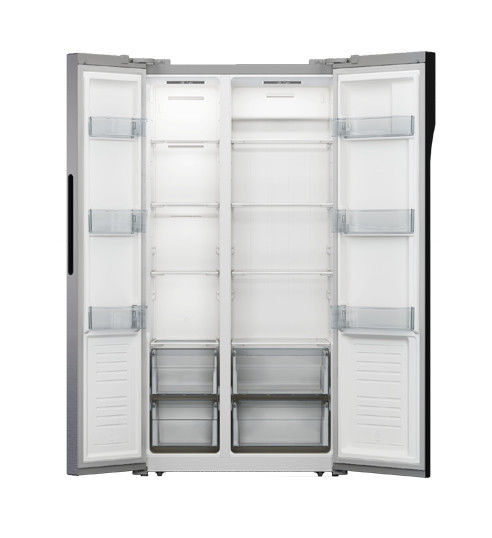 Home Appliance Side By Side Refrigerator Freezer Free Standing Installation,496L