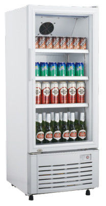 220L Upright Display Beverage Cooler , Single Door Drinks Cooler Fridge,Commercial Refrigerator without Canopy